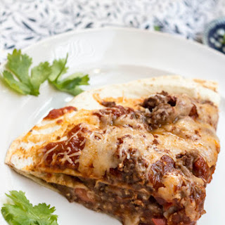 Hearty Beef Taco Bake