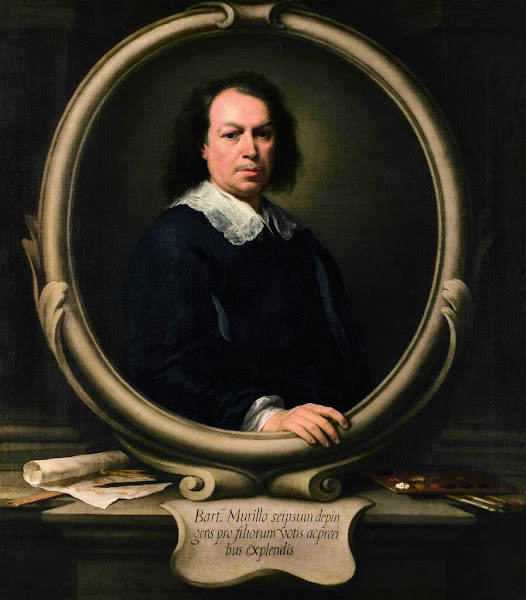 "Photo: ""Autorretrato"" (""Self-Portrait"") Bartolomé Esteban Murillo Óleo sobre tela,122 x 107 cm h. 1670 - 1673 Londres, The National Gallery. Bought, 1953"