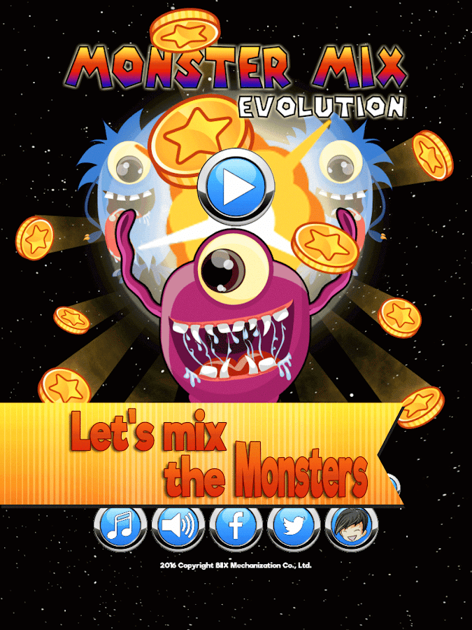 Monster Mix Evolution- screenshot