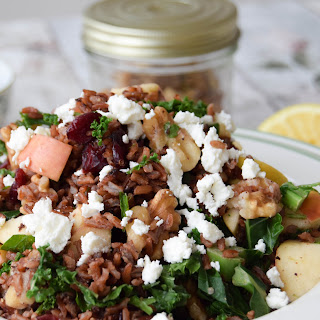 Cranberry, Apple & Walnut Wild Rice Salad