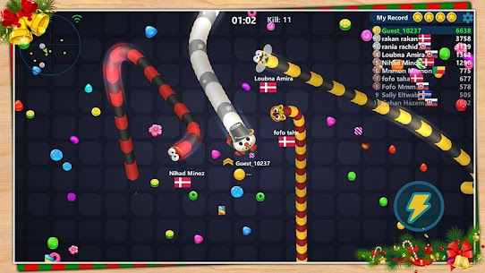 Snake Candy.IO – Multiplayer Snake Slither Game 4