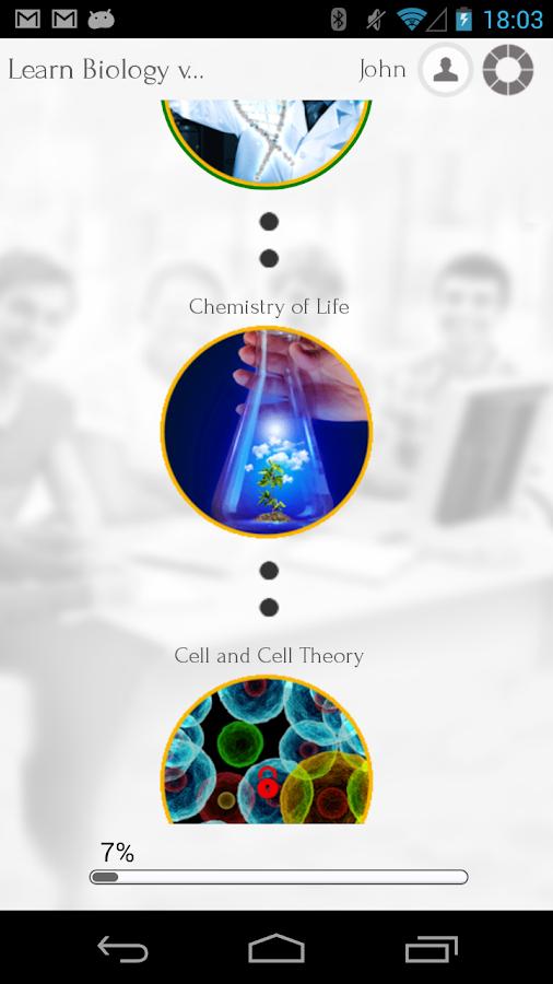 Learn Biology via Videos - screenshot