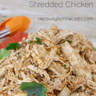 Low Carb Mexican Shredded Chicken.