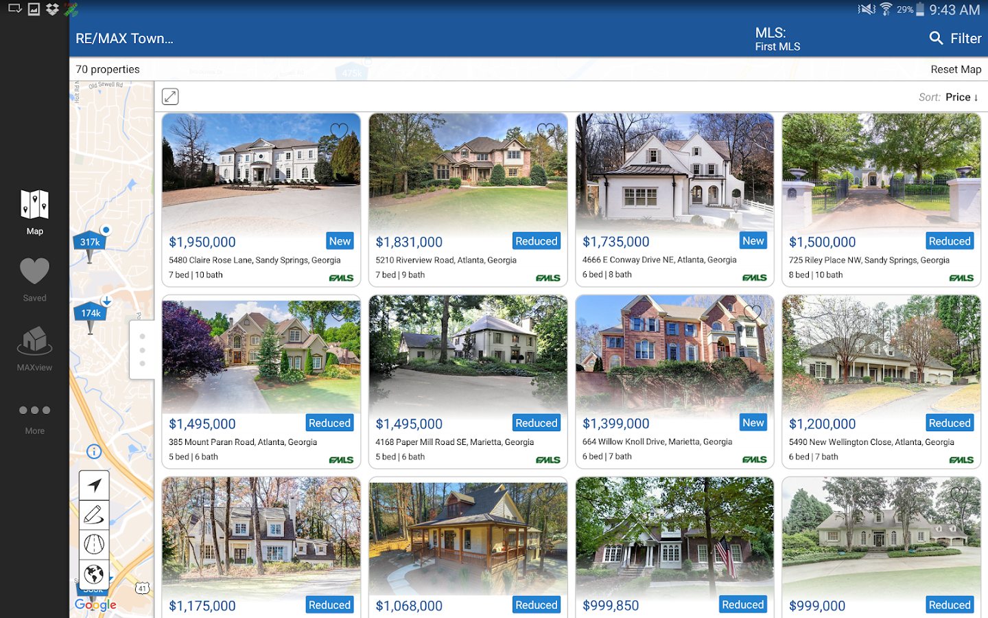 RE/MAX of Georgia MAXview- screenshot