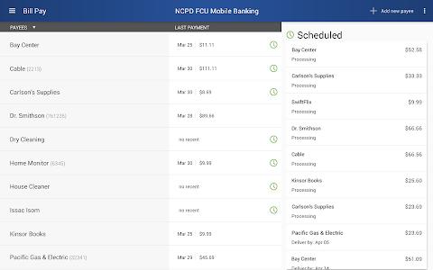 NCPD FCU Mobile Banking screenshot 8