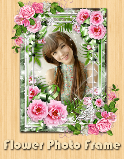 Flowers Photo Frame Love Frame