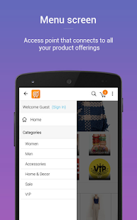 Contus MComm(Mobile eCommerce)- screenshot thumbnail