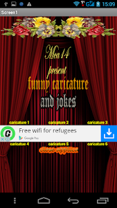 funny caricature & jokes screenshot 0