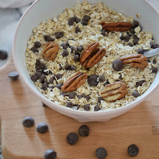 Chocolate Chip and Pecan Granola