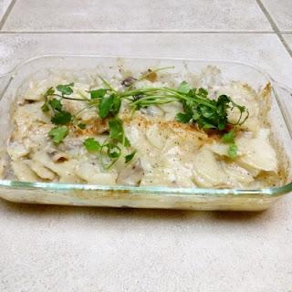 Scalloped Creamy Potato Bake