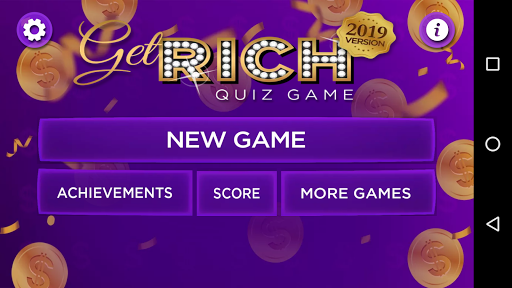 Trivia Quiz Get Rich - Fun Questions Game 3.42 screenshots 1