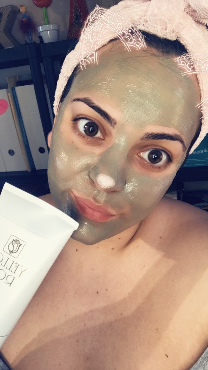 Yellow Rose Green Clay Mask