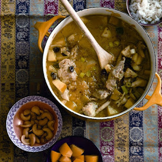 One-Pot Coconut-Chicken Curry.