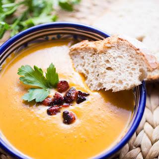 Sweet Potato Soup With Chorizo