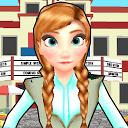 Subway Princess ANNA ELSA Runner APK
