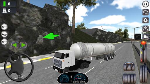 Jeu de simulateur de camion captures d'u00e9cran 1