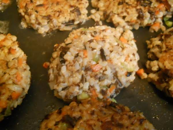 Vegetable Rice Cakes