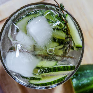 Cucumber + Thyme Cocktail