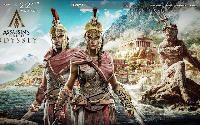 Assassins Creed Odyssey Wallpapers Theme