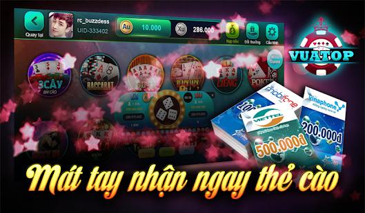 Vua Top screenshot