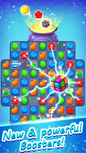 Candy Witch - Match 3 Puzzle Free Games 15.7.5009 screenshots 1