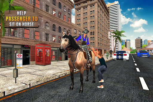 Flying Horse Taxi City Transport: Horse Games 2020 2.0 screenshots 2