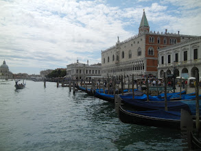 Photo: The Doge's Palace, from the vaporetto, taken from just east of there