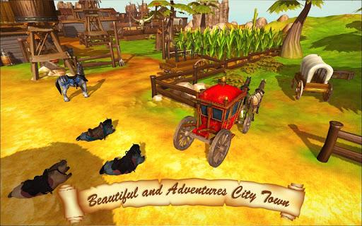 Horse Taxi City Transport: Horse Riding Games painmod.com screenshots 5