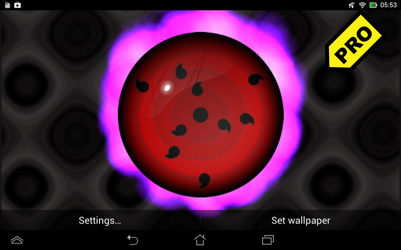 Sharingan Rinnegan LWP Pro Apl Android Di Google Play