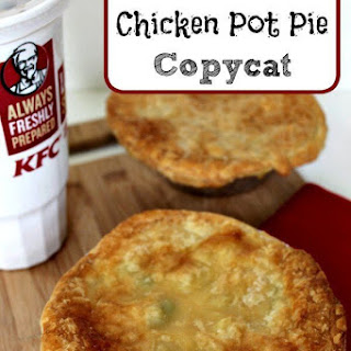 KFC Chicken Pot Pie Copycat