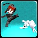 Pixeled Kung Fu Warrior icon