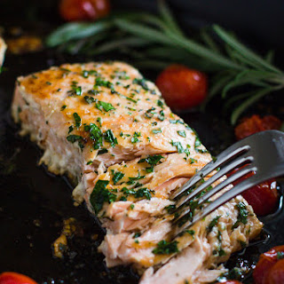 Seared Herb Salmon