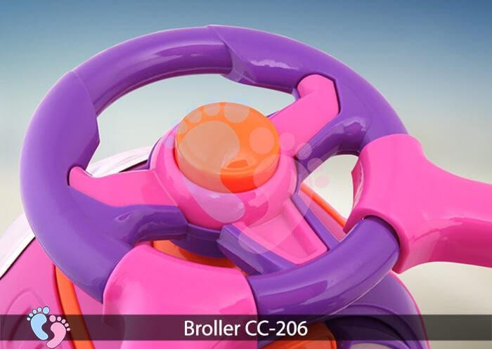 Xe chòi chân trẻ em Broller CC 206 7