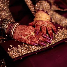 Beauty in Hands by Shahnila Ejaz - Wedding Details