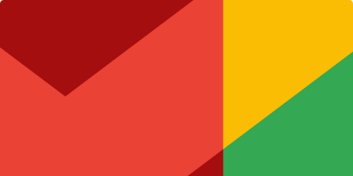 abstract multi-colour rectangle