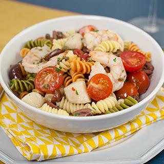 Seafood Puttanesca Salad.