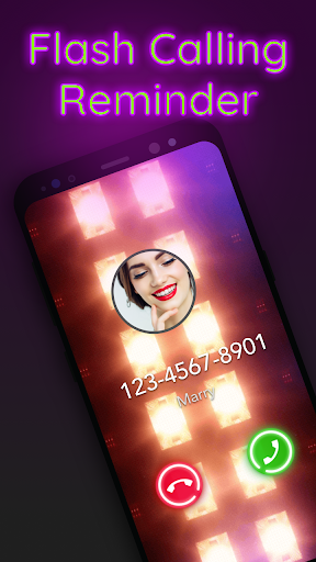 Call flash: Call Screen flashlight, call reminder for PC