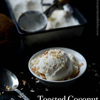 Toasted Coconut Ice Cream.