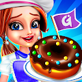Donut Truck - Cafe Kitchen Cooking Games APK