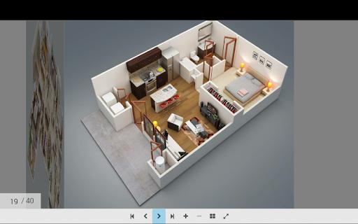 3Dホームプラン