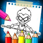 Teen Coloring Titans Go 1.0