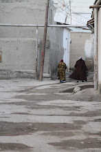 Photo: Bukcharos senamiesčio užkampiai.  Bukhara Old Town's corners.