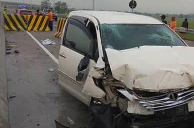 Kecelakaan di tol Ngawi-Kertosono