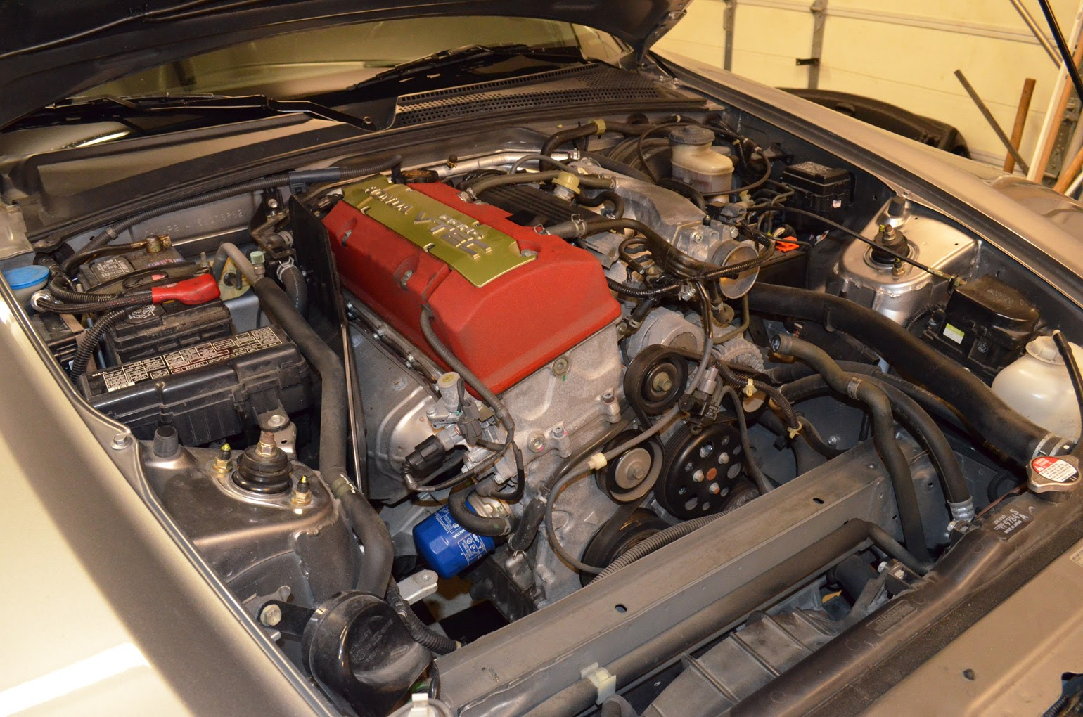 2005 Turbo Setup S2ki Honda S2000 Forums Car Fuse Box Short Battery And Fusebox Relocation Was Going To Make It Easier Locate The Not Worry As Much About Heat Power Steering Assist Stayed In