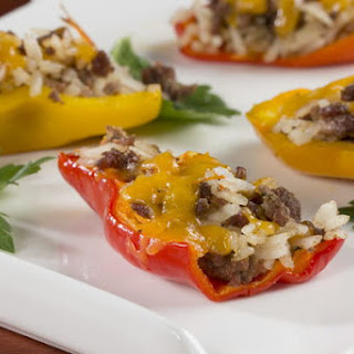 Stuffed Mini Peppers.