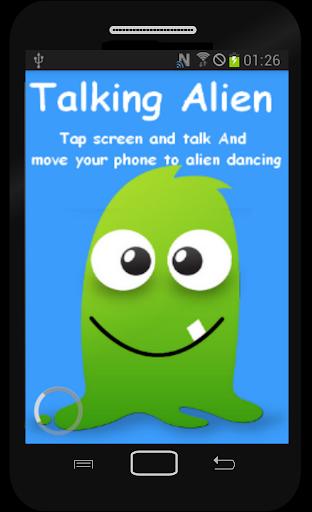 Talk And Dancing Alien