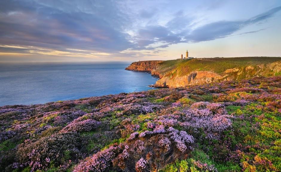Cap Frehel - Мыс Фреэль -лучшие достопримечательности региона Бретань, Франция. Путеводитель по Бретани и городам Франции. Самые красивые ланшдафты Франции.