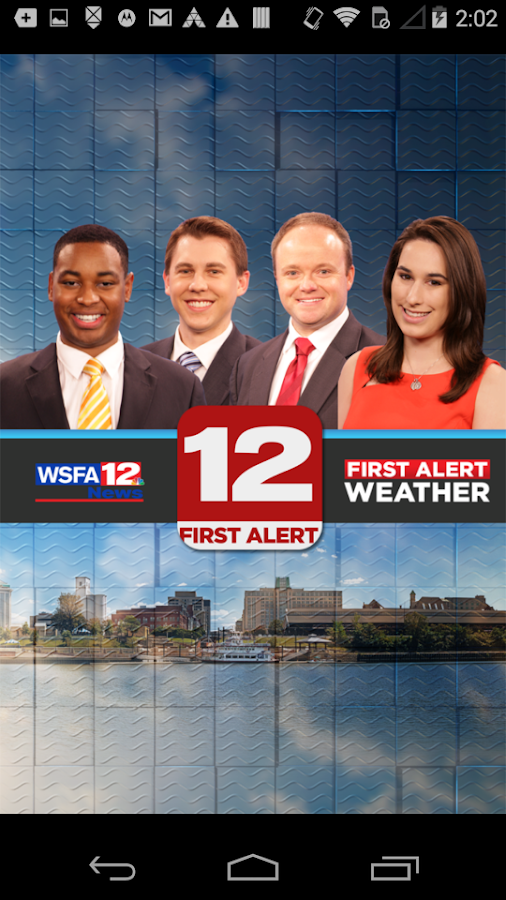 WSFA First Alert Weather- screenshot
