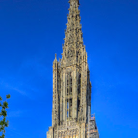 Ulm Minster, Exterior by Elk Baiter - Buildings & Architecture Places of Worship ( ulm, church, germany, minster, cathedral,  )