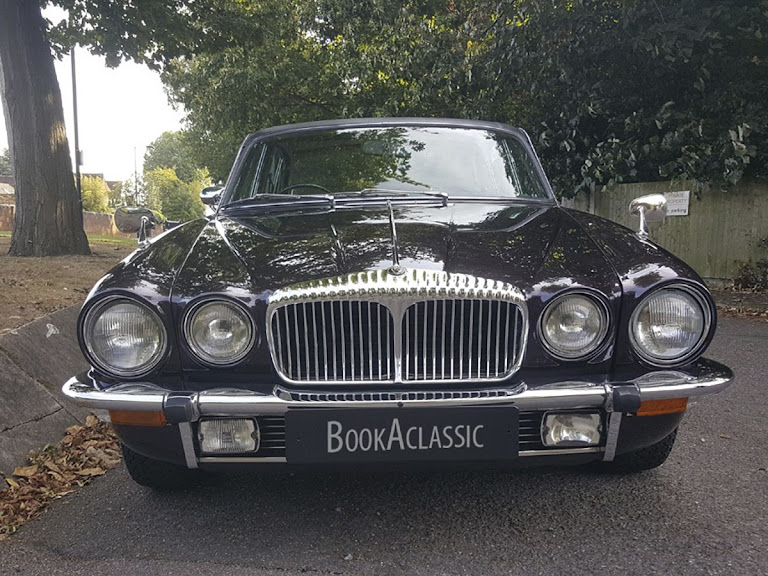 Daimler Double Six Vanden Plas Hire London